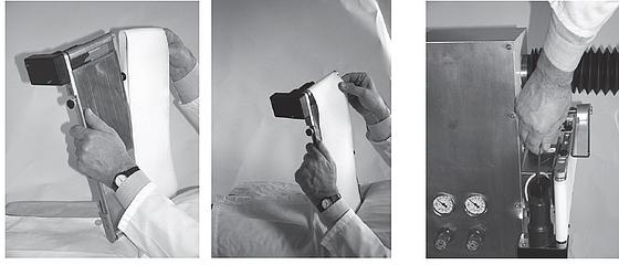 Montage der Bänder bei einem Checkweigher | As-Wägetechnik