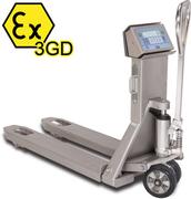 Serie TPWX3GDI: Gabelhubwagen für explosionsgefährdete Bereiche