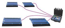 Serie AS-RLM: Mobile Plattformen zur Messung von Rad-, Achslasten und Fahrzeug-Gesamtgewichten