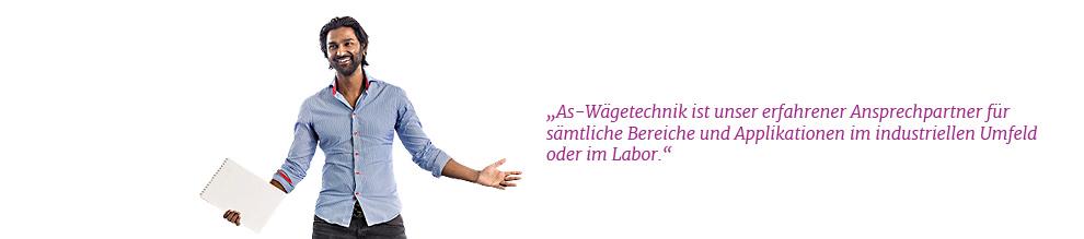 As-Wägetechnik - Erfahrener Ansprechpartner bei Waagen