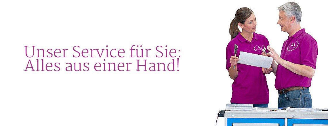 Service von As-Wägetechnik