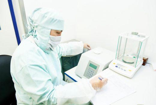 Mikrowaage im Labor